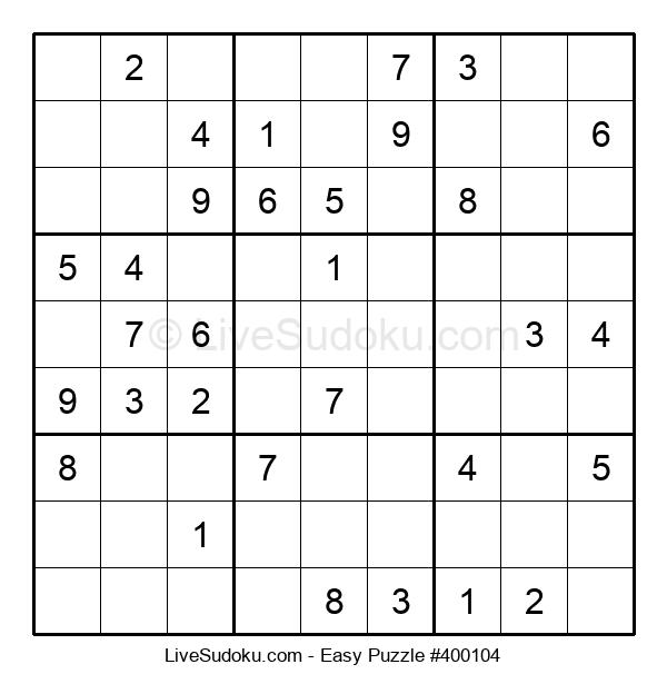 Beginners Puzzle #400104