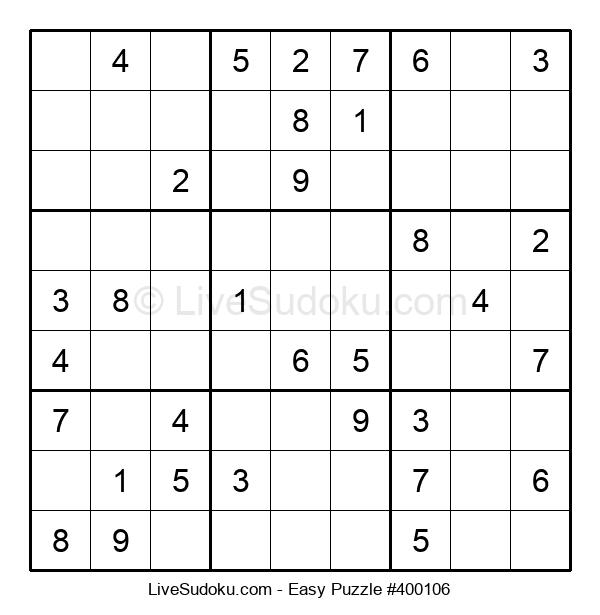 Beginners Puzzle #400106