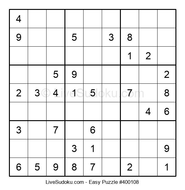 Beginners Puzzle #400108