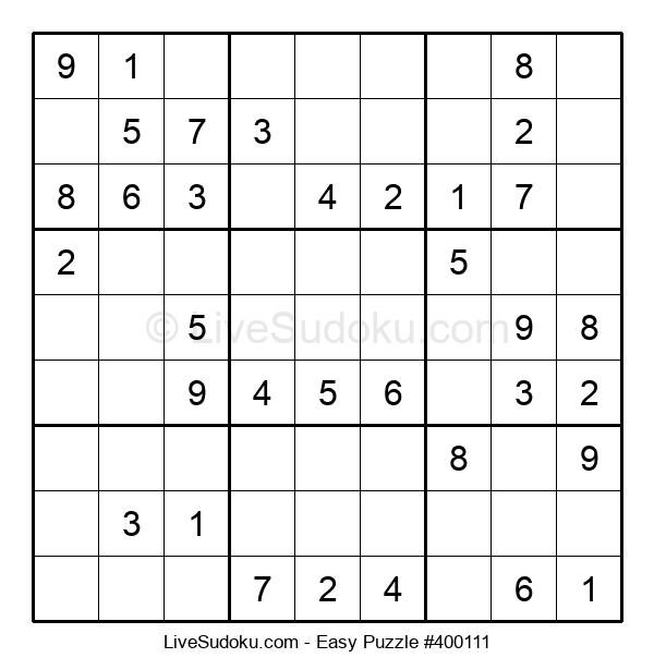 Beginners Puzzle #400111