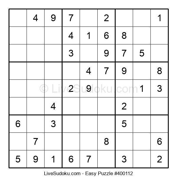 Beginners Puzzle #400112