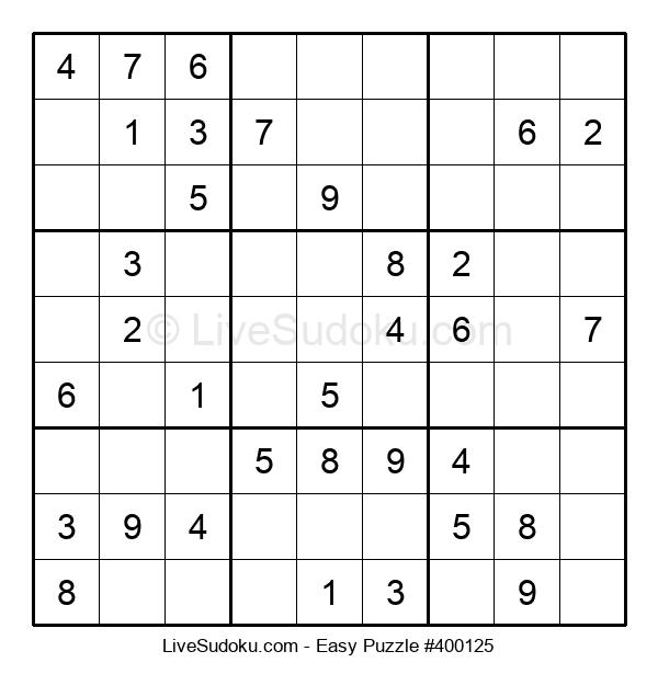Beginners Puzzle #400125