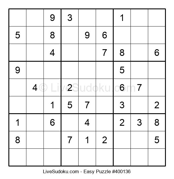 Beginners Puzzle #400136