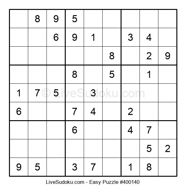 Beginners Puzzle #400140