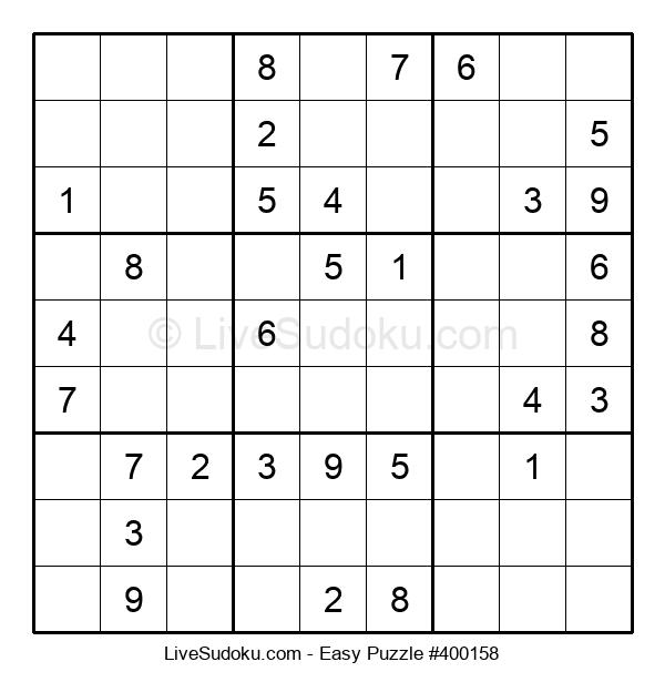 Beginners Puzzle #400158