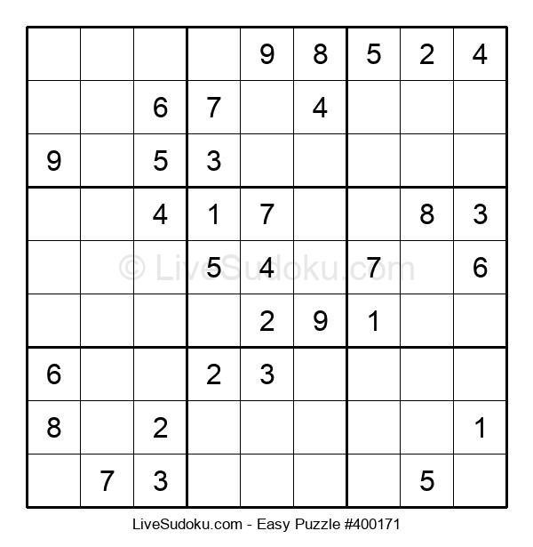Beginners Puzzle #400171