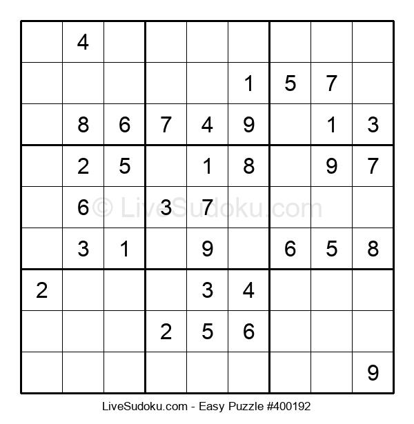 Beginners Puzzle #400192
