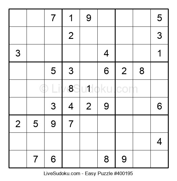 Beginners Puzzle #400195