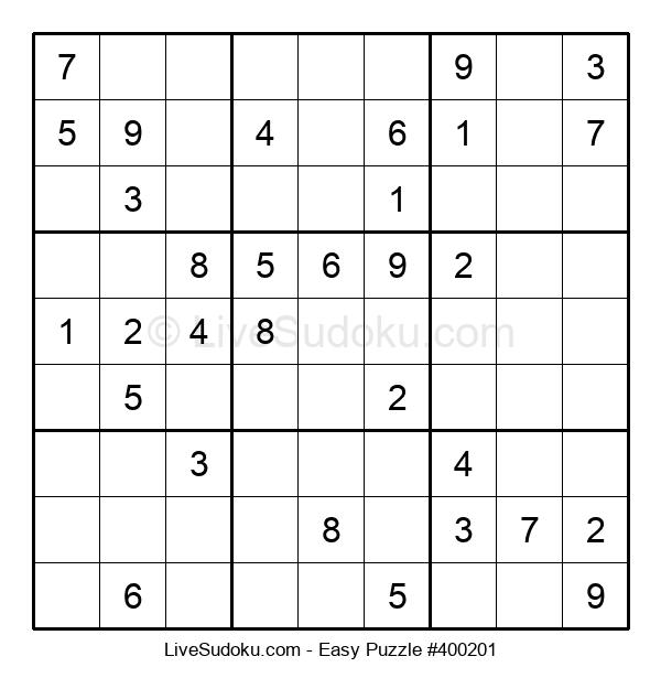 Beginners Puzzle #400201