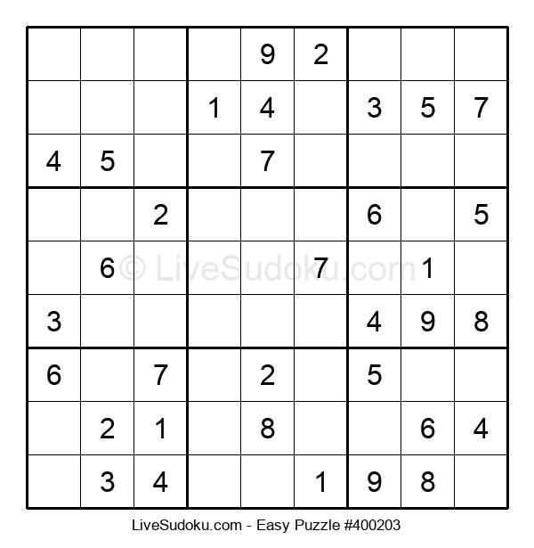 Beginners Puzzle #400203