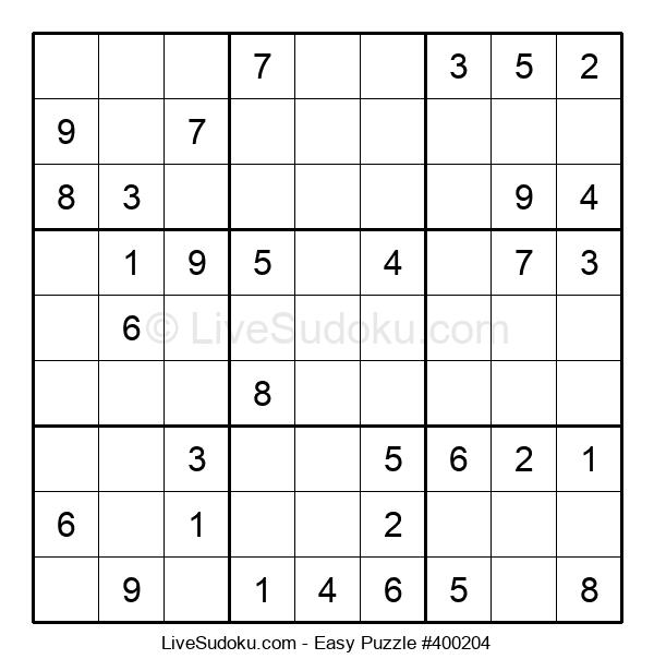 Beginners Puzzle #400204