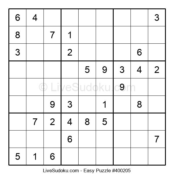 Beginners Puzzle #400205