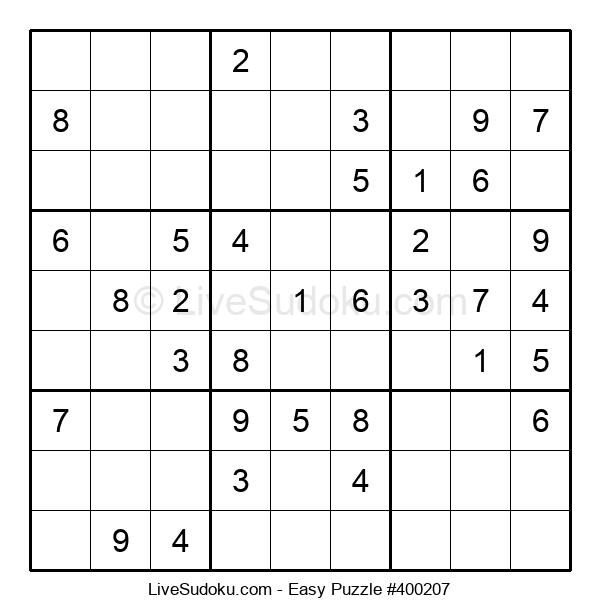 Beginners Puzzle #400207