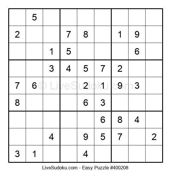Beginners Puzzle #400208