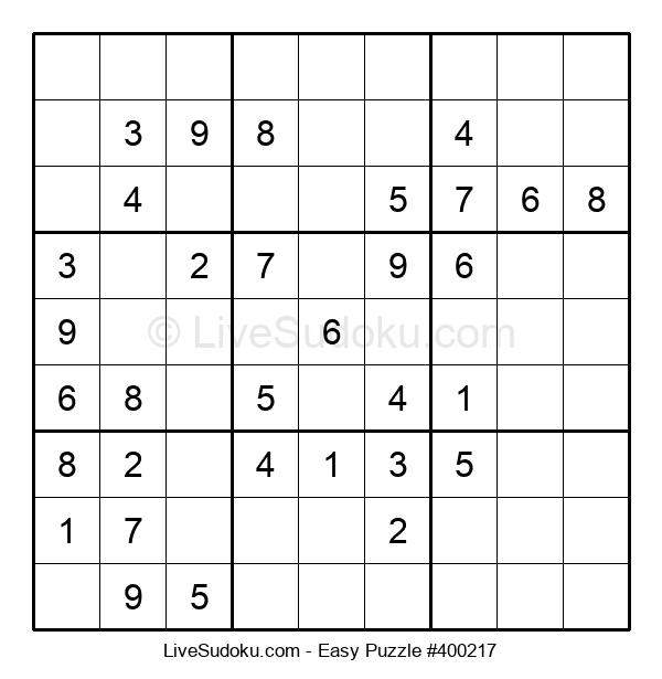 Beginners Puzzle #400217