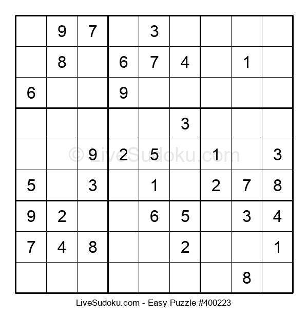 Beginners Puzzle #400223