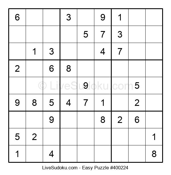 Beginners Puzzle #400224
