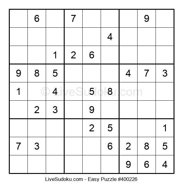 Beginners Puzzle #400226