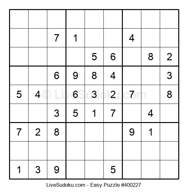 Beginners Puzzle #400227