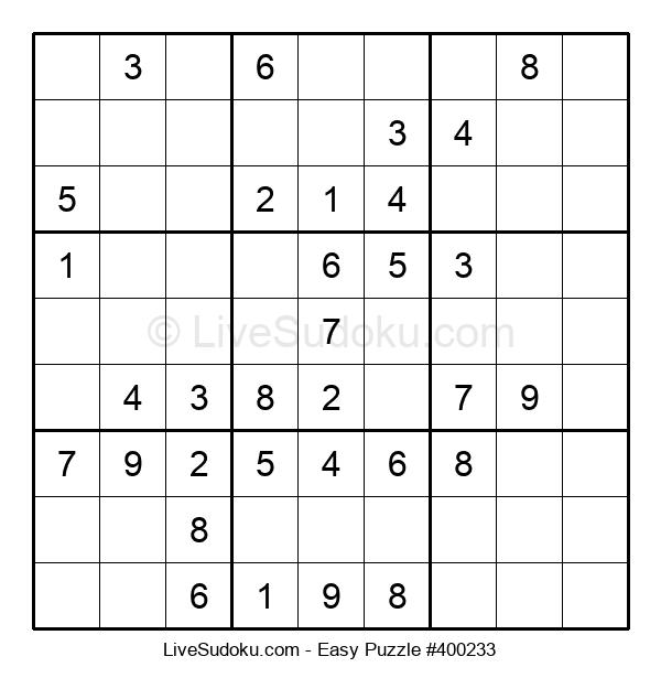 Beginners Puzzle #400233