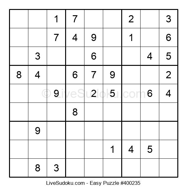 Beginners Puzzle #400235