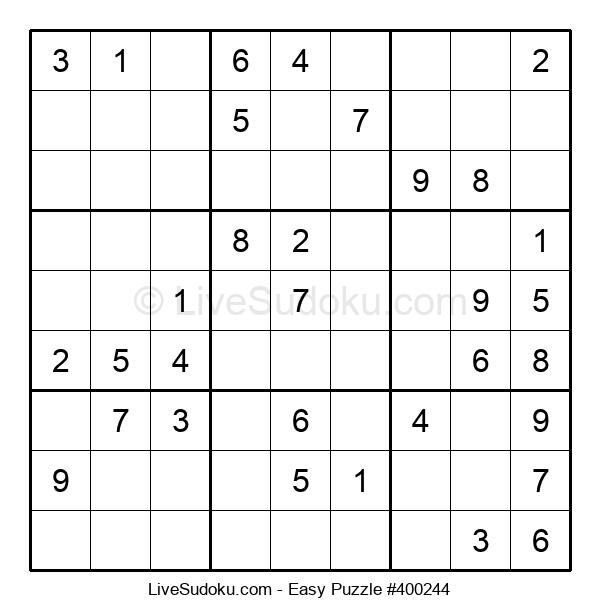 Beginners Puzzle #400244