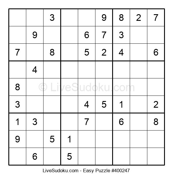 Beginners Puzzle #400247