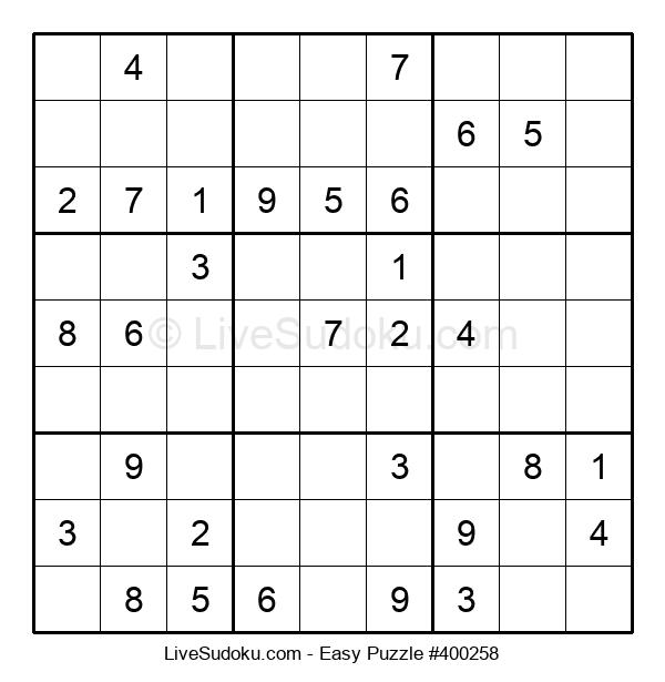 Beginners Puzzle #400258