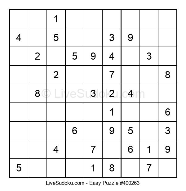 Beginners Puzzle #400263