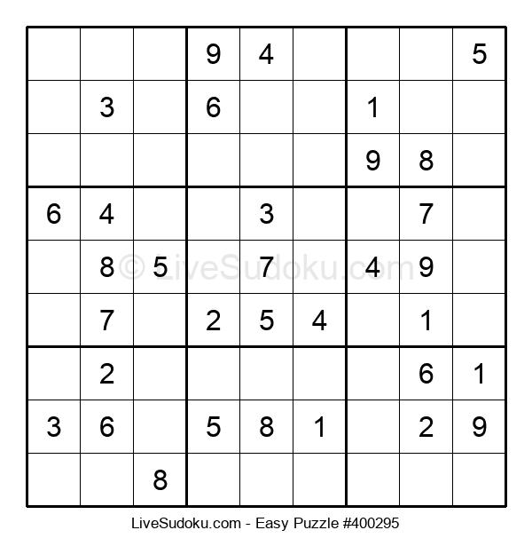 Beginners Puzzle #400295