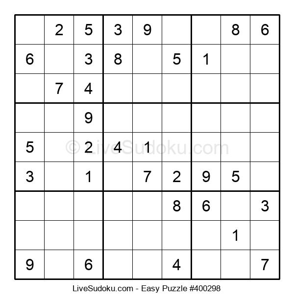 Beginners Puzzle #400298