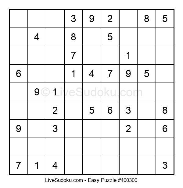 Beginners Puzzle #400300