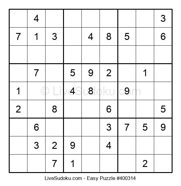Beginners Puzzle #400314