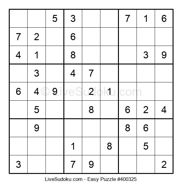 Beginners Puzzle #400325