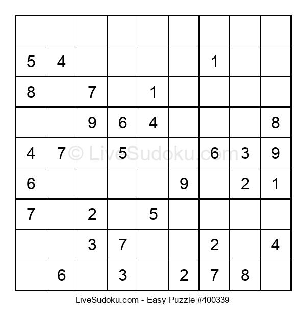 Beginners Puzzle #400339