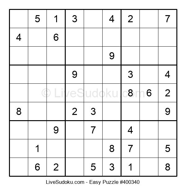 Beginners Puzzle #400340