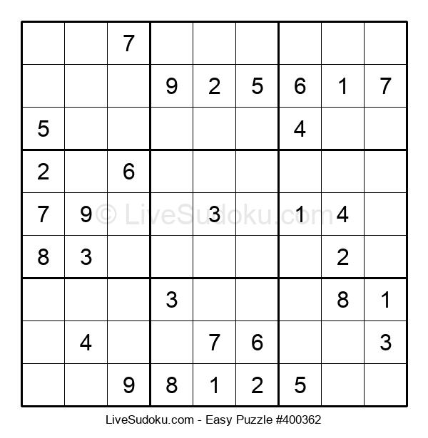 Beginners Puzzle #400362