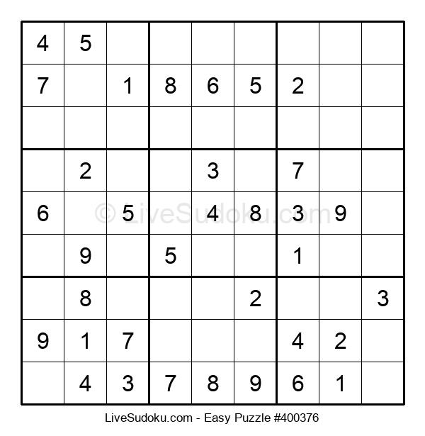 Beginners Puzzle #400376