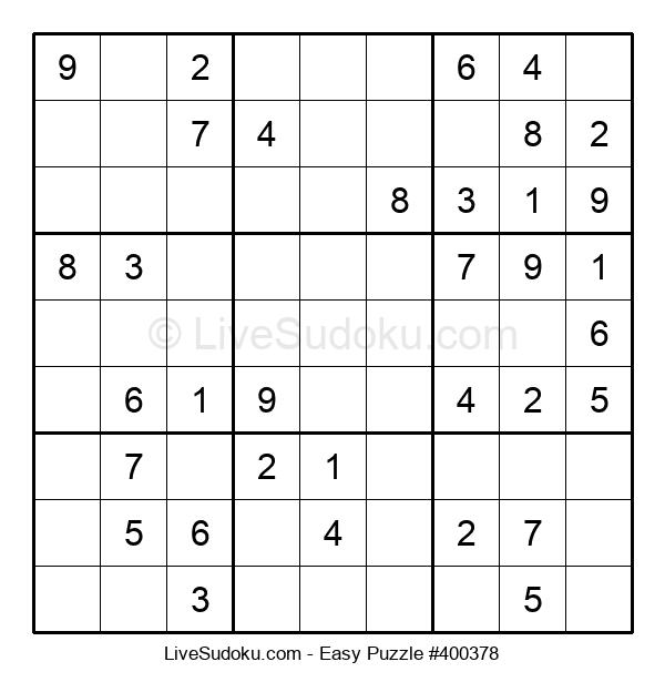 Beginners Puzzle #400378