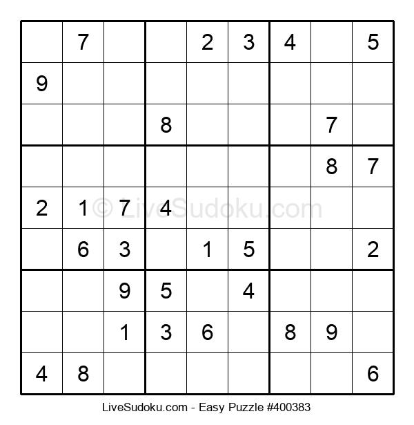 Beginners Puzzle #400383