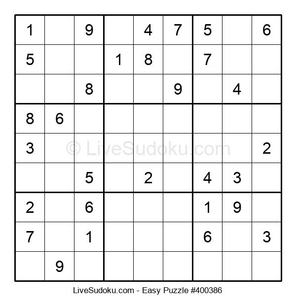 Beginners Puzzle #400386