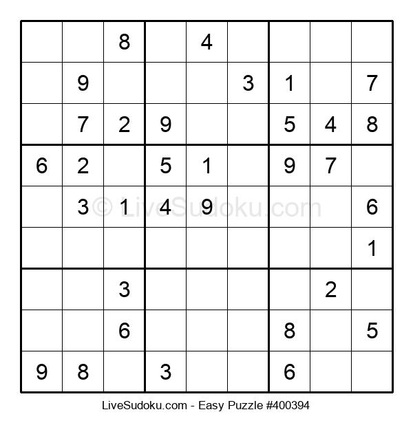 Beginners Puzzle #400394