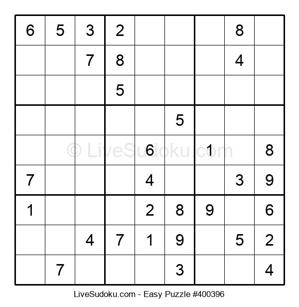 Beginners Puzzle #400396