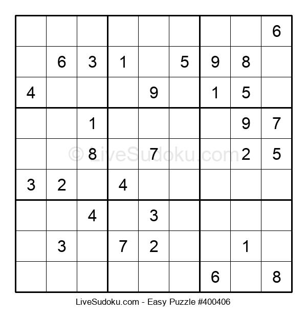 Beginners Puzzle #400406