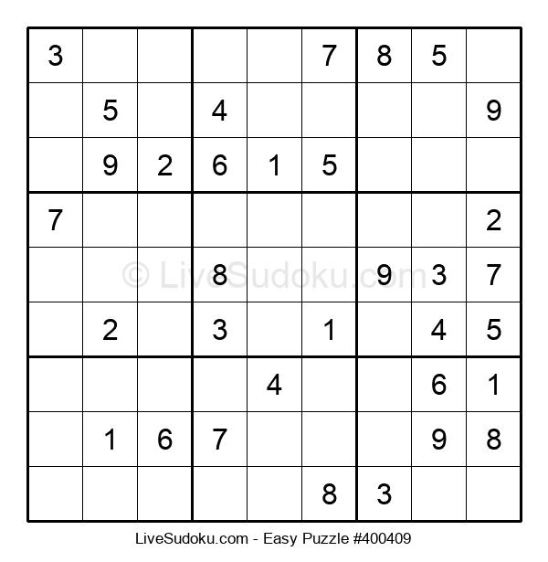 Beginners Puzzle #400409