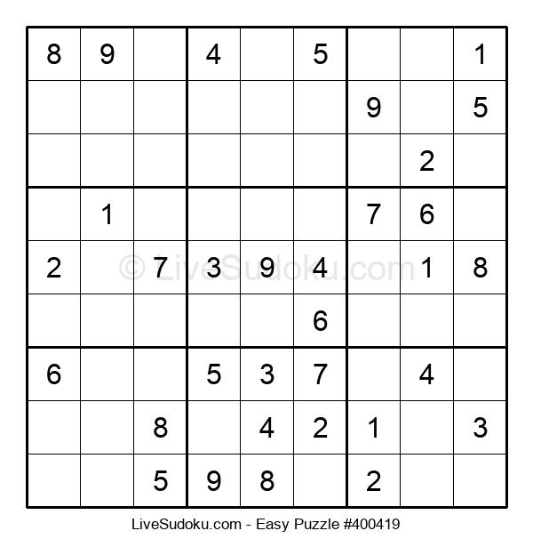 Beginners Puzzle #400419