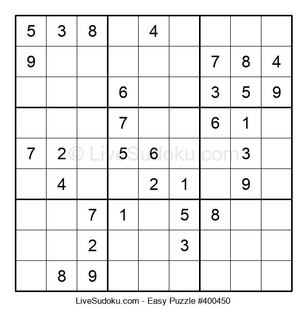 Beginners Puzzle #400450