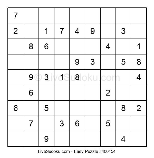 Beginners Puzzle #400454