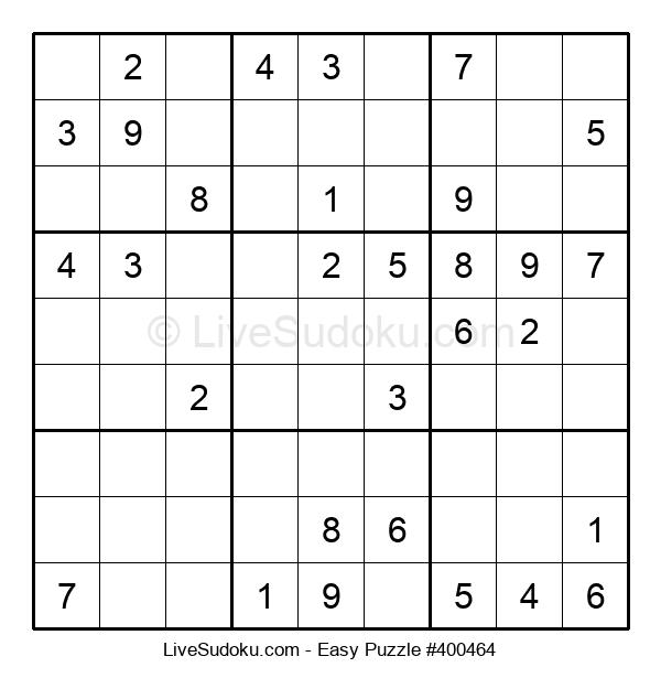 Beginners Puzzle #400464