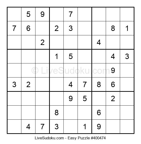 Beginners Puzzle #400474